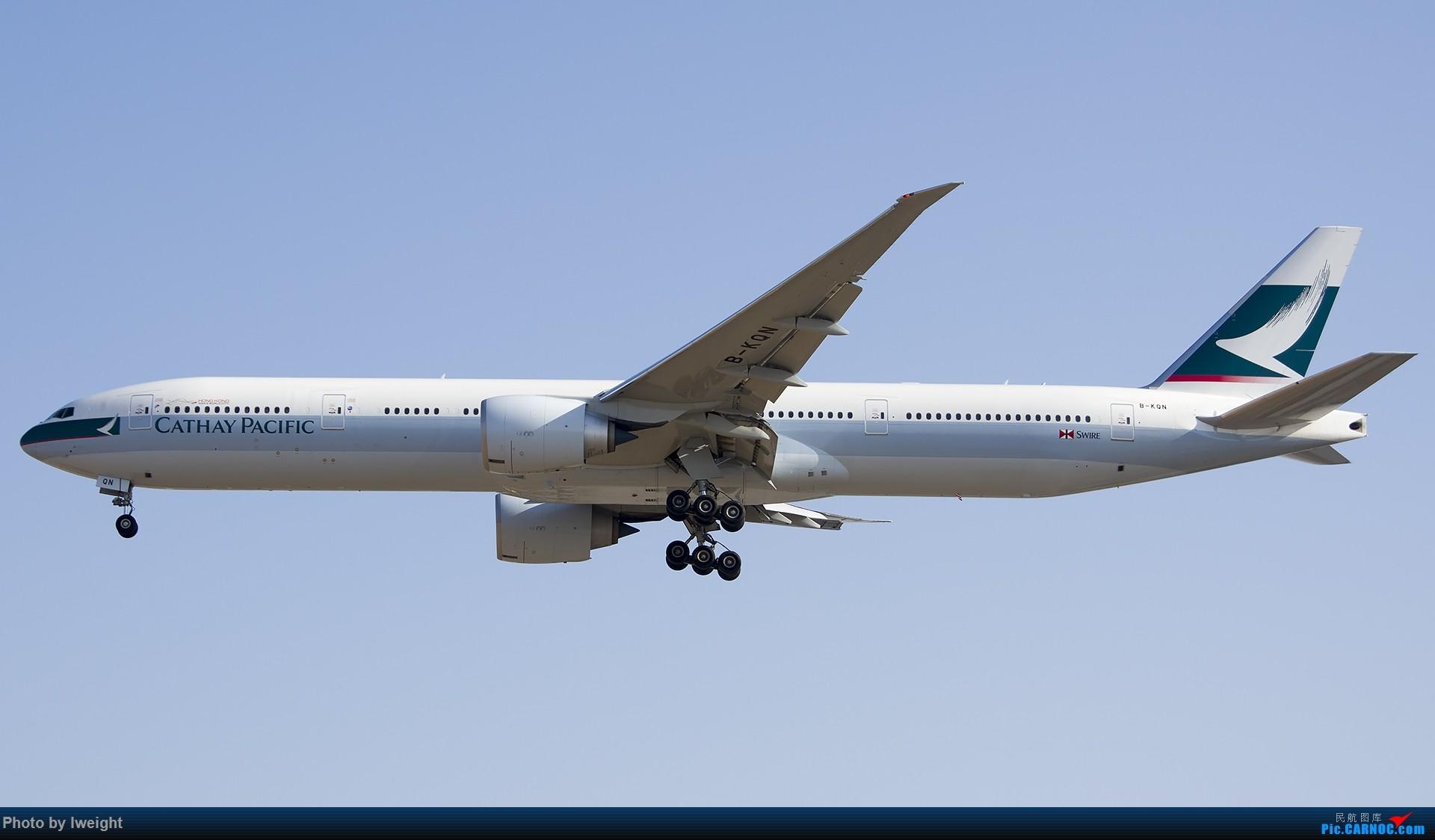 Re:[原创]庆祝升级777,发上今天在首都机场拍的所有飞机【2014-12-14】 BOEING 777-300ER B-KQN 中国北京首都国际机场