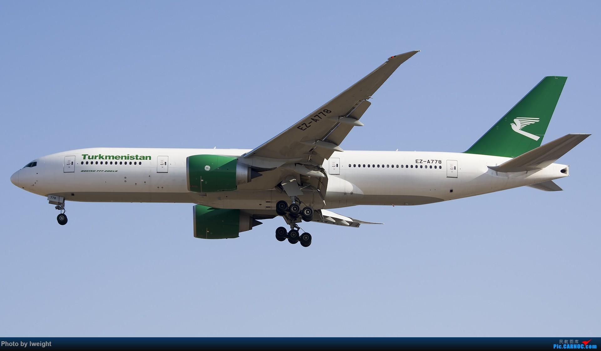 Re:[原创]庆祝升级777,发上今天在首都机场拍的所有飞机【2014-12-14】 BOEING 777-200LR EZ-A778 中国北京首都国际机场