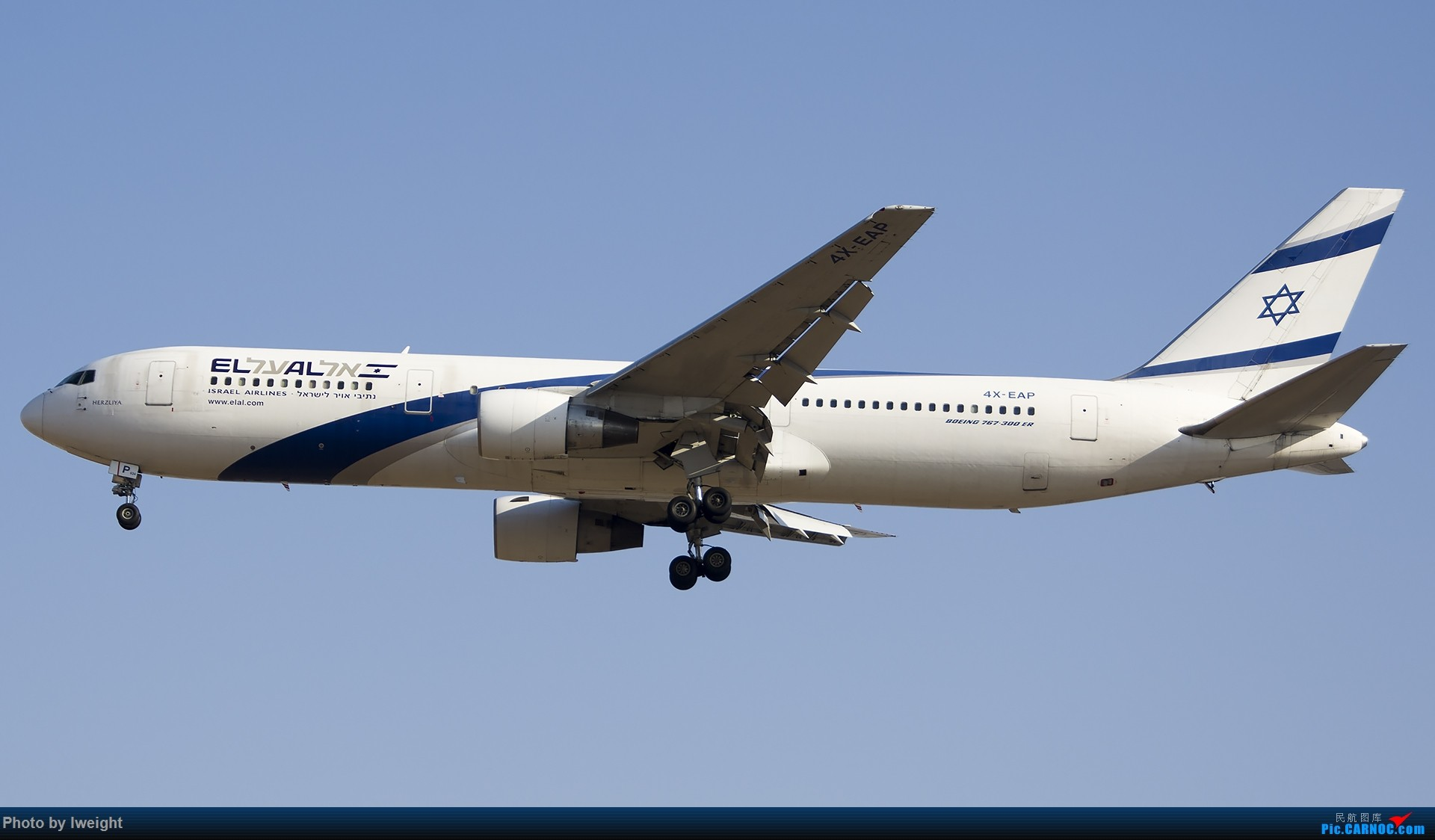 Re:[原创]庆祝升级777,发上今天在首都机场拍的所有飞机【2014-12-14】 BOEING 767-300ER 4X-EAP 中国北京首都国际机场