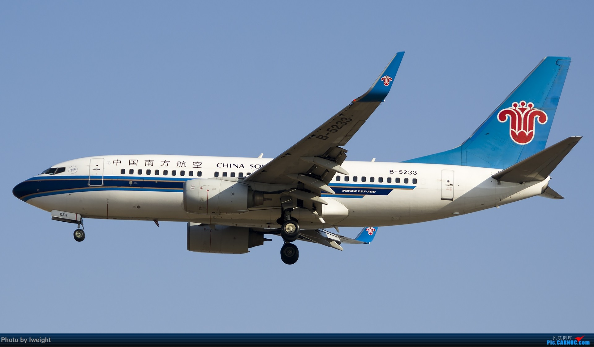 Re:[原创]庆祝升级777,发上今天在首都机场拍的所有飞机【2014-12-14】 BOEING 737-700 B-5233 中国北京首都国际机场
