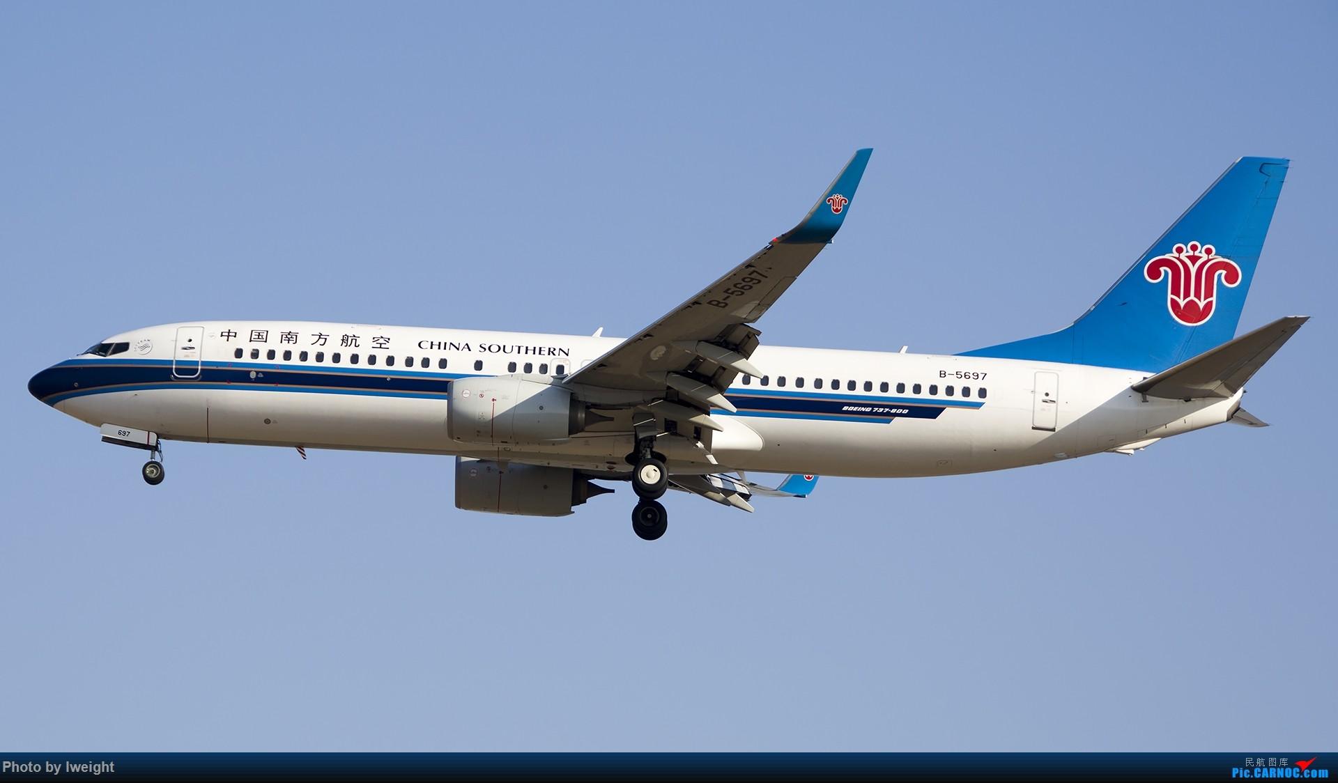 Re:[原创]庆祝升级777,发上今天在首都机场拍的所有飞机【2014-12-14】 BOEING 737-800 B-5697 中国北京首都国际机场