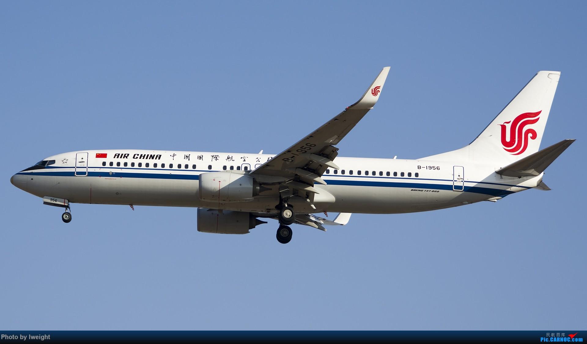 Re:[原创]庆祝升级777,发上今天在首都机场拍的所有飞机【2014-12-14】 BOEING 737-800 B-1956 中国北京首都国际机场