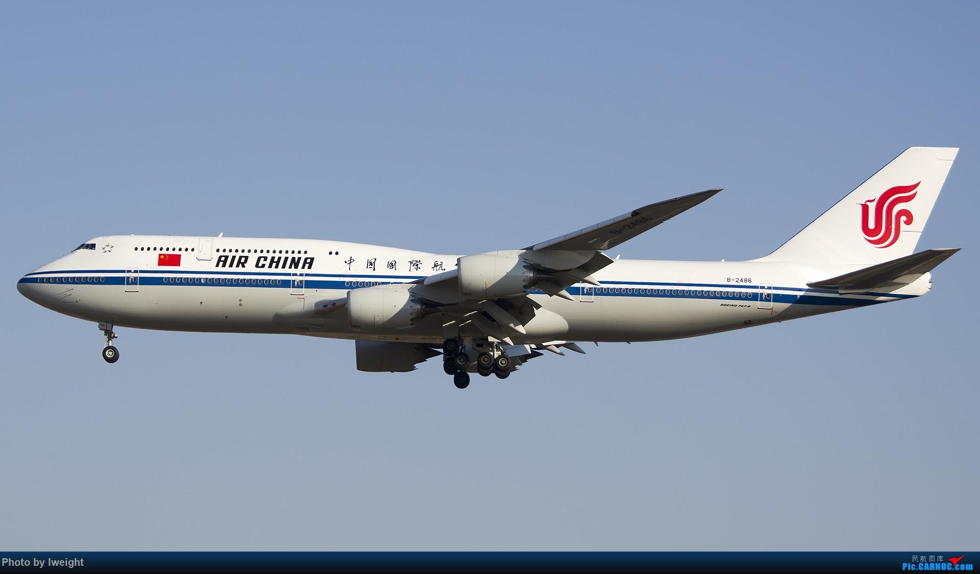 Re:[原创]庆祝升级777,发上今天在首都机场拍的所有飞机【2014-12-14】 BOEING 747-8I B-2486 中国北京首都国际机场