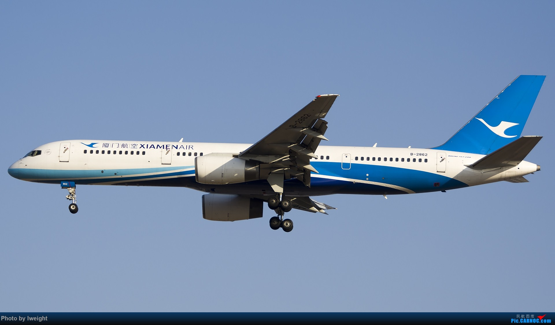 Re:[原创]庆祝升级777,发上今天在首都机场拍的所有飞机【2014-12-14】 BOEING 757-200 B-2862 中国北京首都国际机场