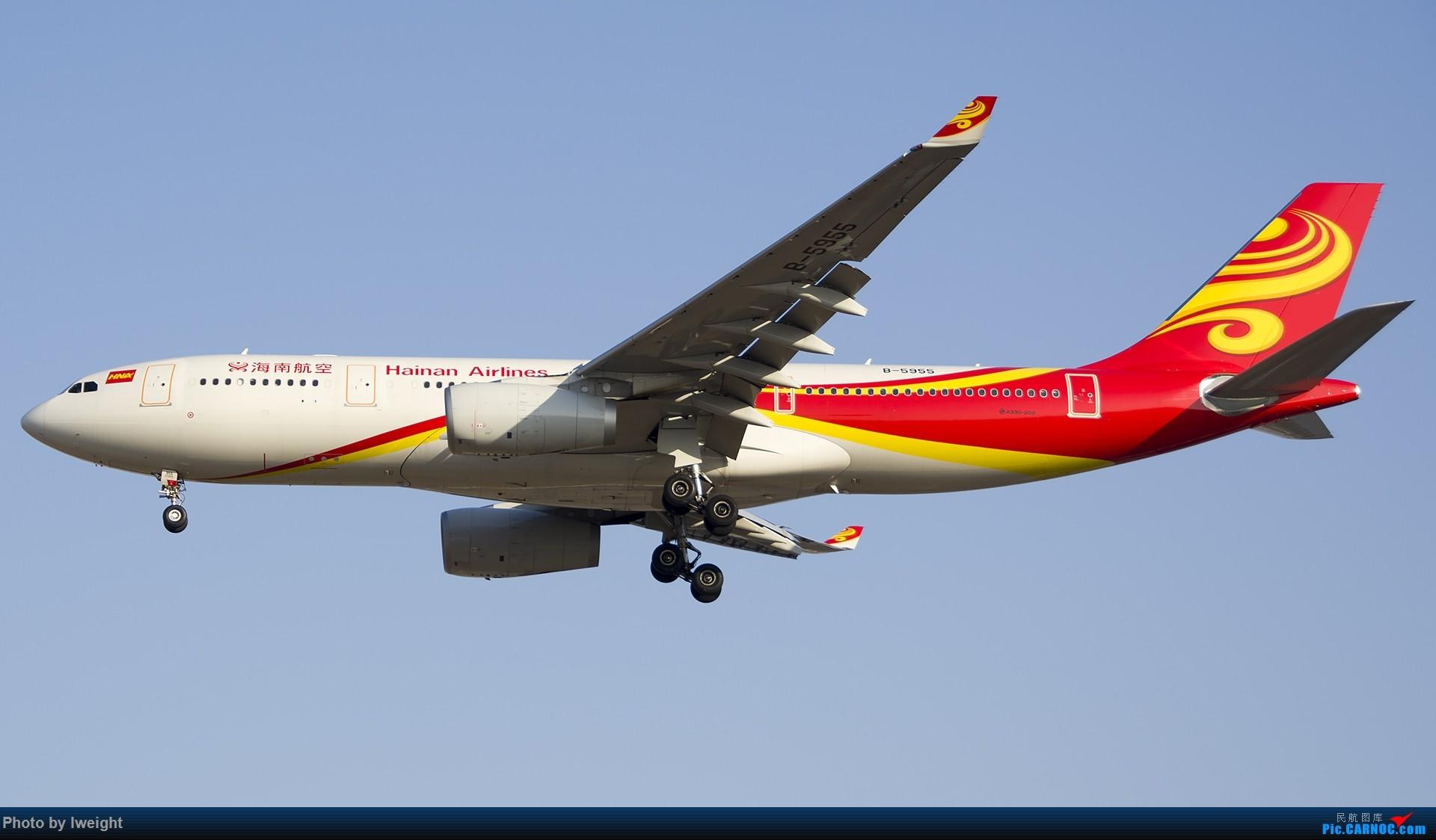 Re:[原创]庆祝升级777,发上今天在首都机场拍的所有飞机【2014-12-14】 AIRBUS A330-200 B-5955 中国北京首都国际机场