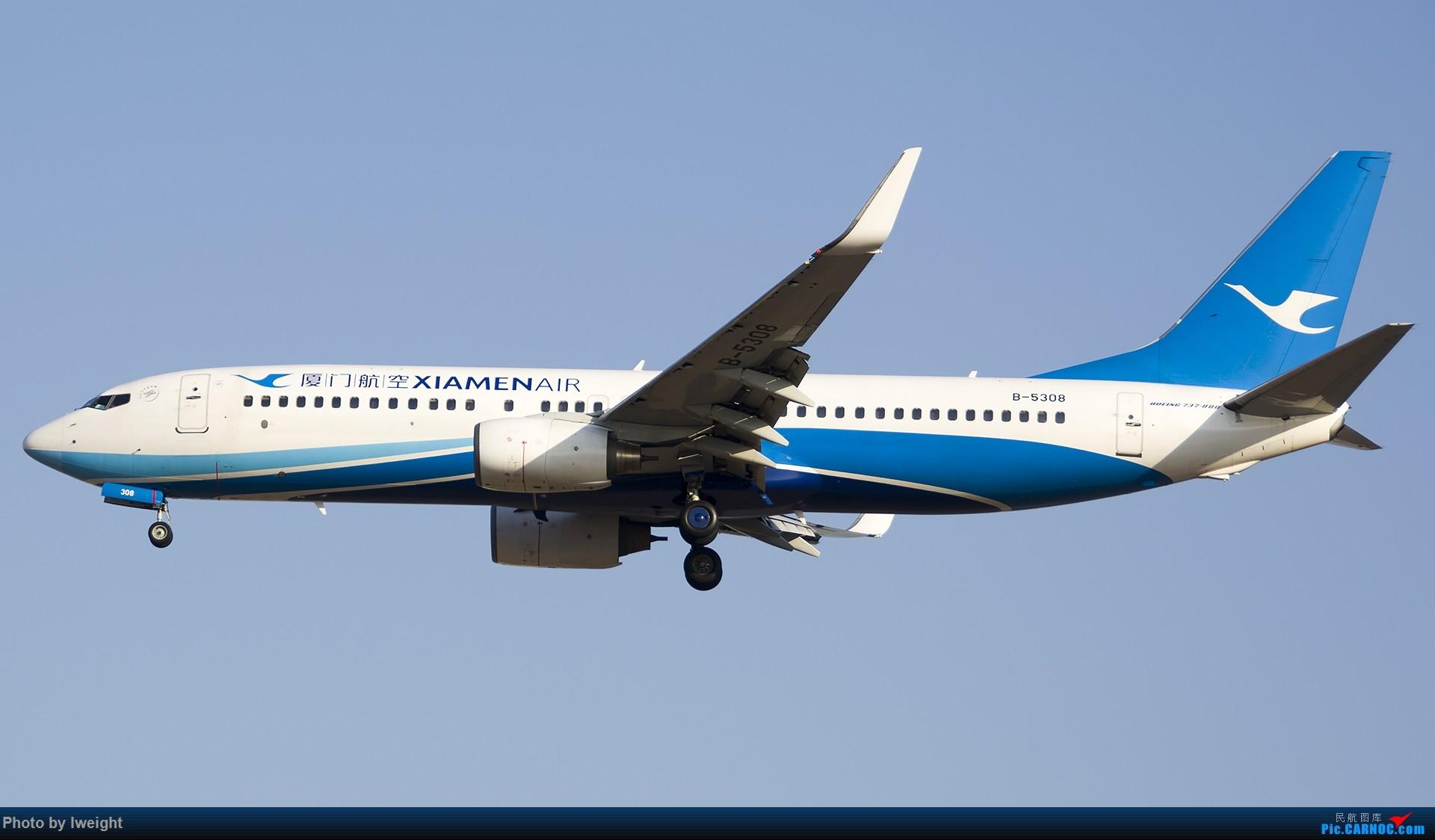 Re:[原创]庆祝升级777,发上今天在首都机场拍的所有飞机【2014-12-14】 BOEING 737-800 B-5308 中国北京首都国际机场
