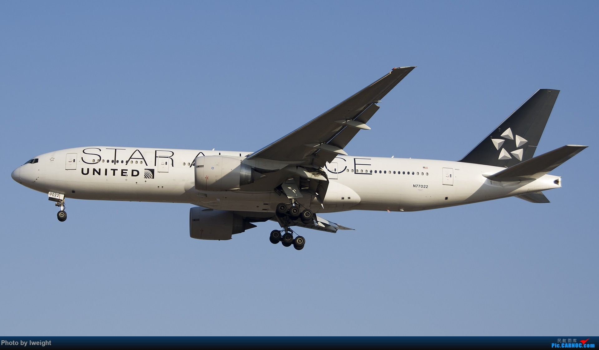 Re:[原创]庆祝升级777,发上今天在首都机场拍的所有飞机【2014-12-14】 BOEING 777-200ER N77022 中国北京首都国际机场