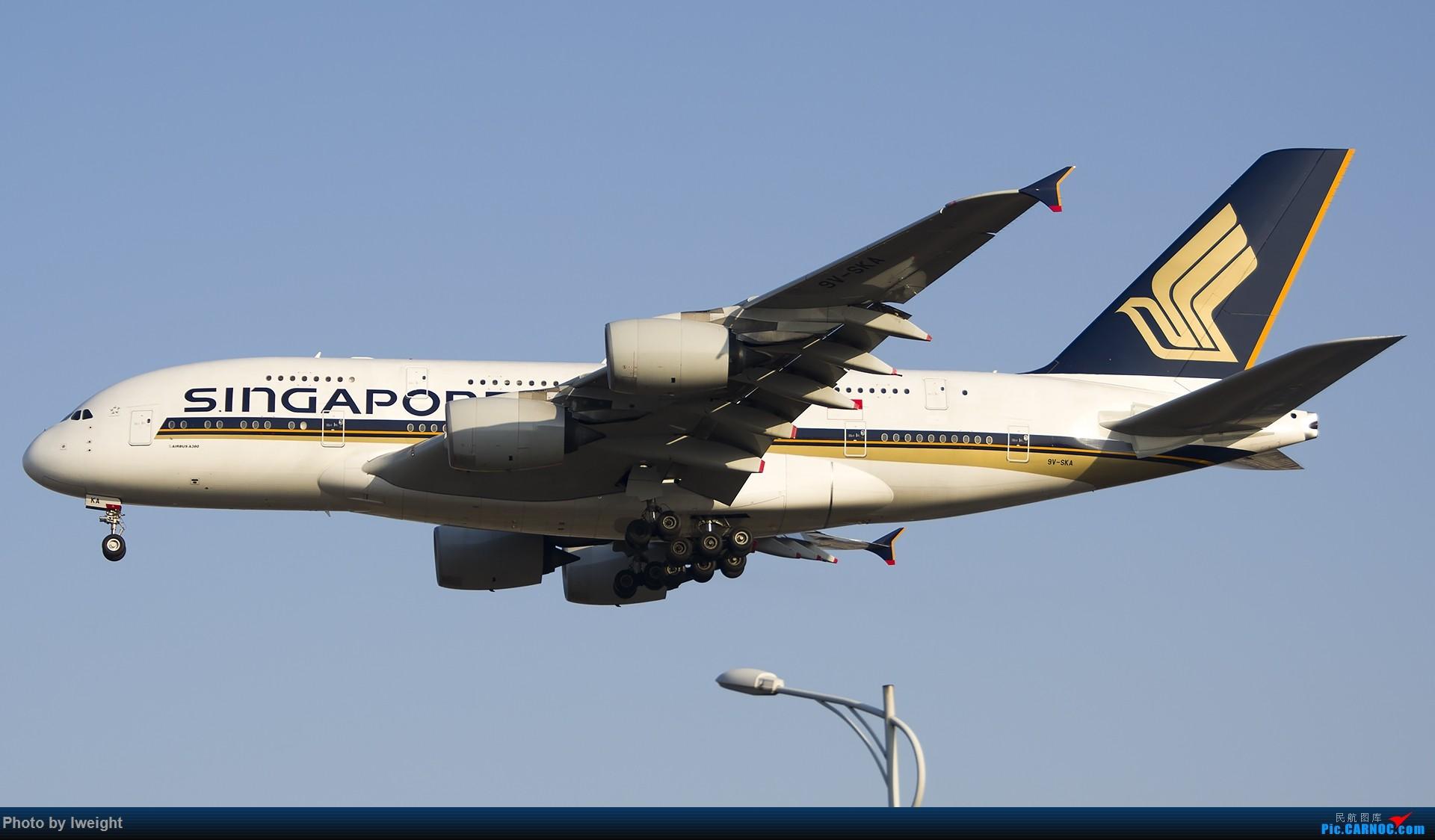Re:[原创]庆祝升级777,发上今天在首都机场拍的所有飞机【2014-12-14】 AIRBUS A380 9V-SKA 中国北京首都国际机场