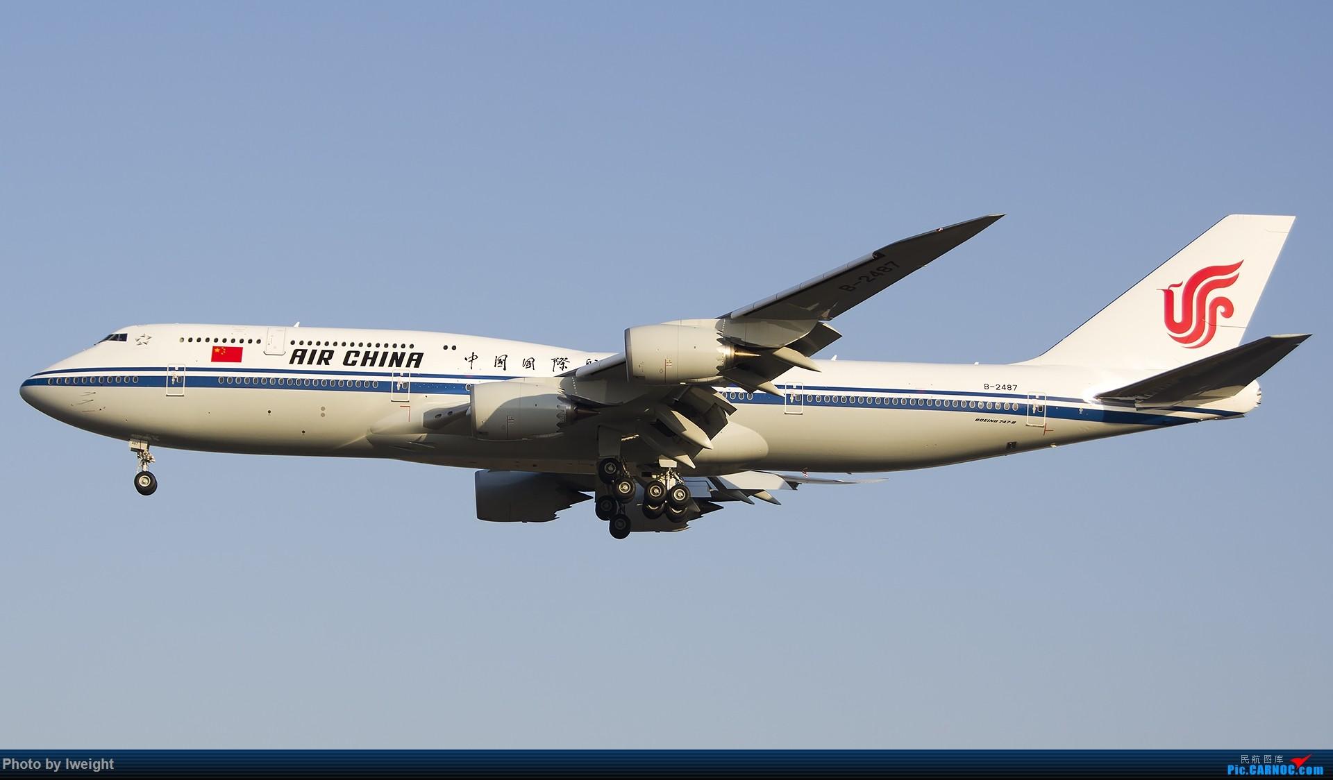 Re:[原创]庆祝升级777,发上今天在首都机场拍的所有飞机【2014-12-14】 BOEING 747-8I B-2487 中国北京首都国际机场