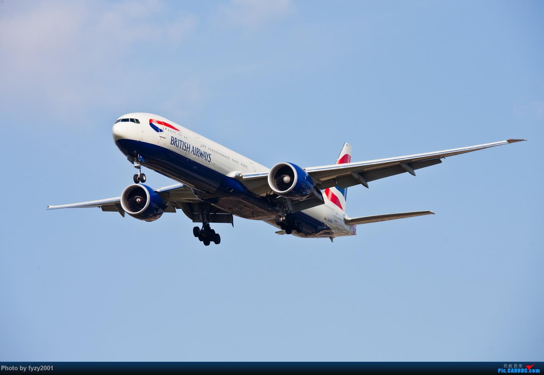 Re:[原创][无锡西站]PVG的大飞机~~~~ BOEING 777-300ER G-STBF