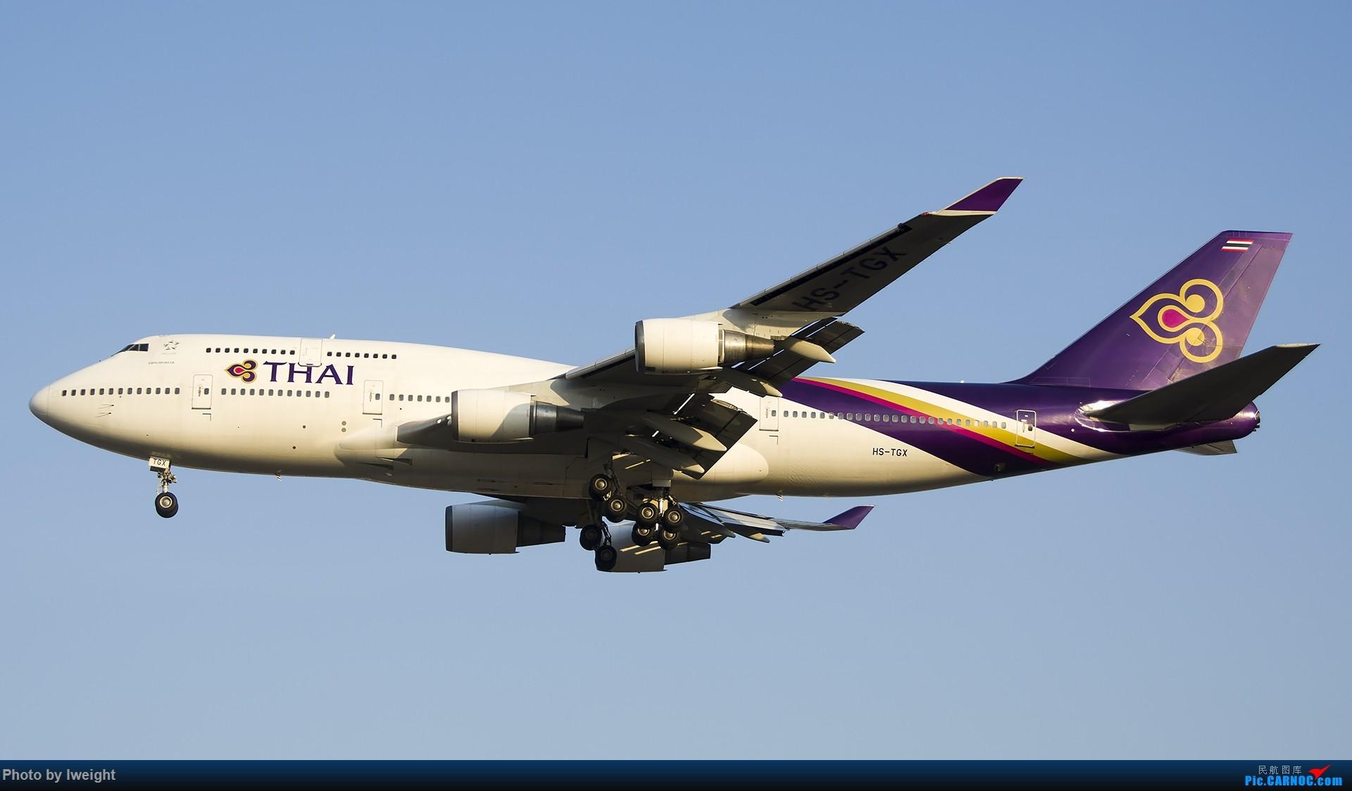 Re:[原创]庆祝升级777,发上今天在首都机场拍的所有飞机【2014-12-14】 BOEING 747-400 HS-TGX 中国北京首都国际机场