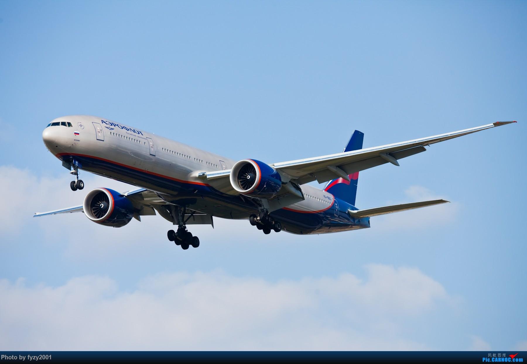 Re:[原创][无锡西站]PVG的大飞机~~~~ BOEING 777-300ER VQ-BQC 中国上海浦东国际机场
