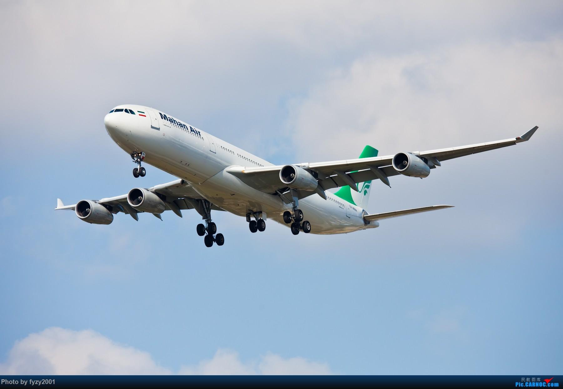 Re:[原创][无锡西站]PVG的大飞机~~~~ AIRBUS A340-300 EP-MMA 中国上海浦东国际机场