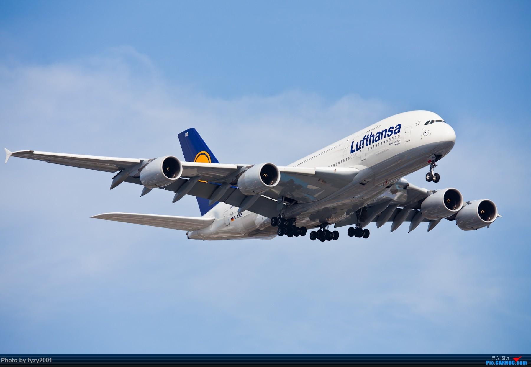 Re:[原创][无锡西站]PVG的大飞机~~~~ AIRBUS A380 D-AIMB 中国上海浦东国际机场