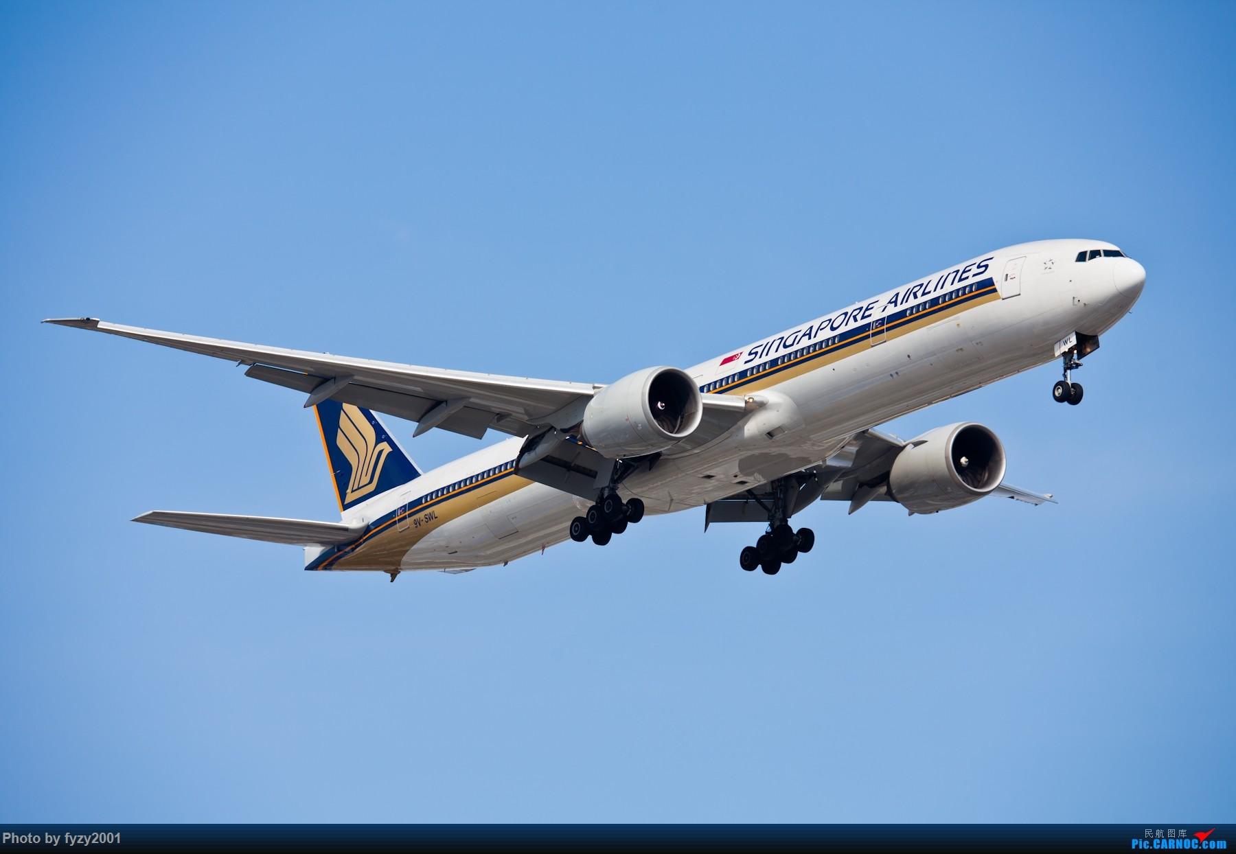 Re:[原创][无锡西站]PVG的大飞机~~~~ BOEING 777-300ER 9V-SWL 中国上海浦东国际机场