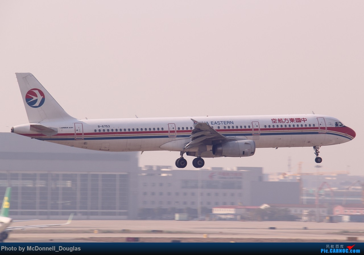 Re:【上海飞友会】来一波黄黄的图吧【多图】 AIRBUS A321-232 B-6753 中国上海虹桥国际机场