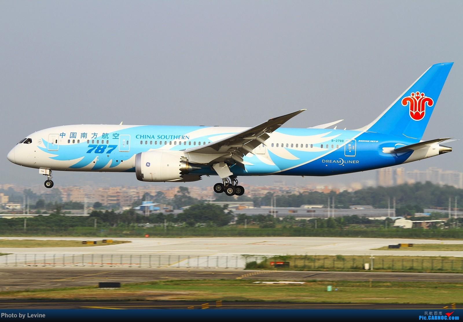 Re:[原创]宽体 BOEING 787-8 B-2788 中国广州白云国际机场