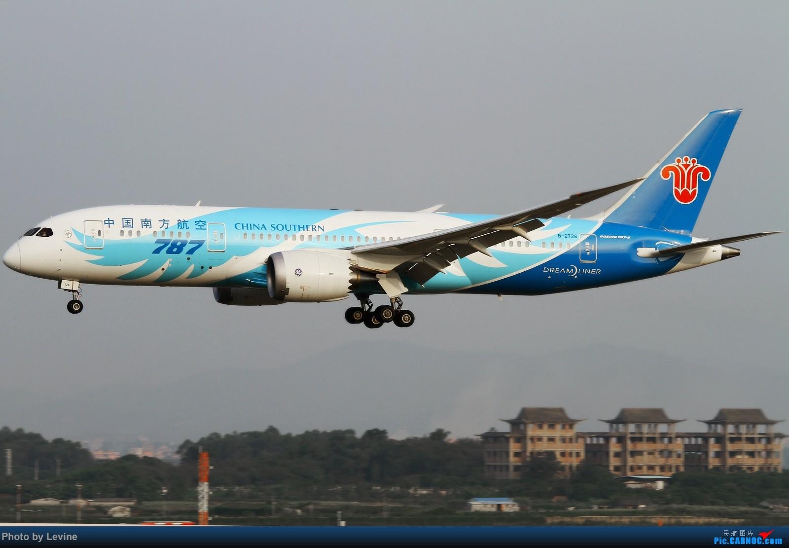 Re:[原创]宽体 BOEING 787-8 B-2726 中国广州白云国际机场