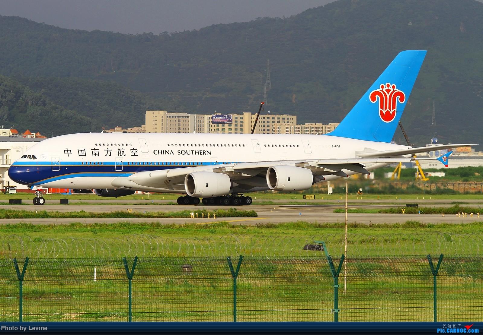Re:[原创]宽体 AIRBUS A380 B-6136 中国深圳宝安国际机场