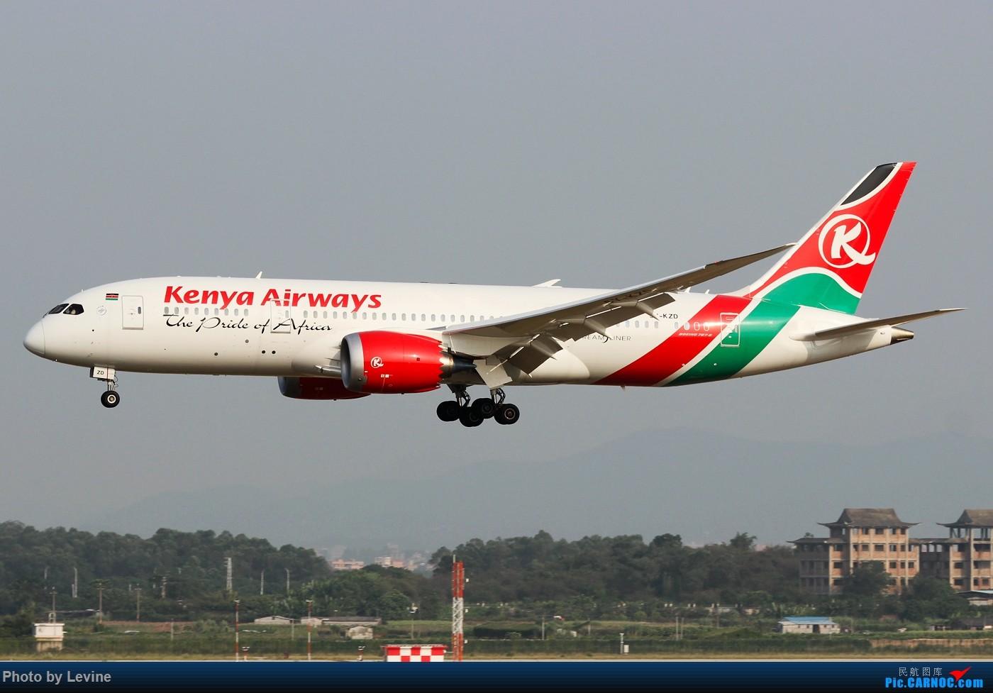 Re:[原创]宽体 BOEING 787-8 5Y-KZD 中国广州白云国际机场