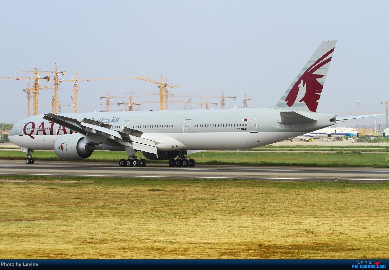 Re:宽体 BOEING 777-300ER A7-BAS 中国广州白云国际机场
