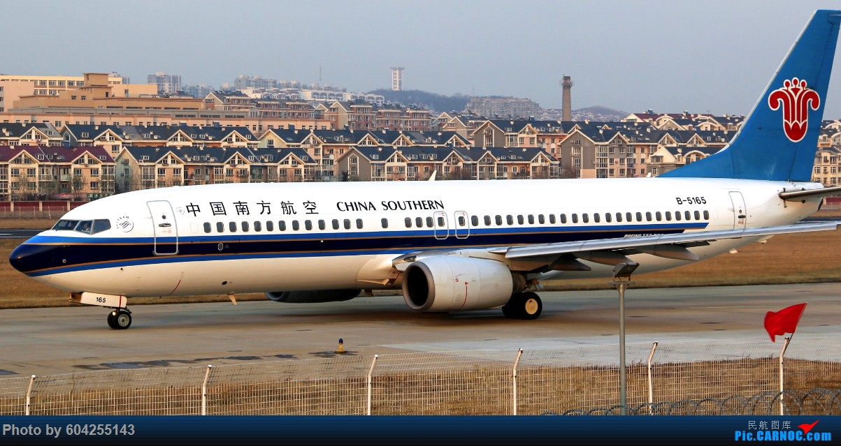 Re:[原创]南航小地主 BOEING 737-800 B-5165 中国大连周水子国际机场