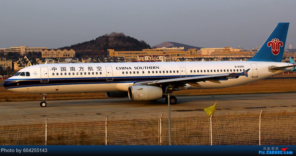 Re:[原创]南航小地主 AIRBUS A321-200 B-6305 中国大连周水子国际机场