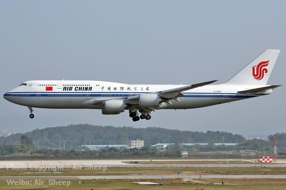 Re:[原创]广州一天两班国航空中女皇 BOEING 747-8I B-2485 中国广州白云国际机场