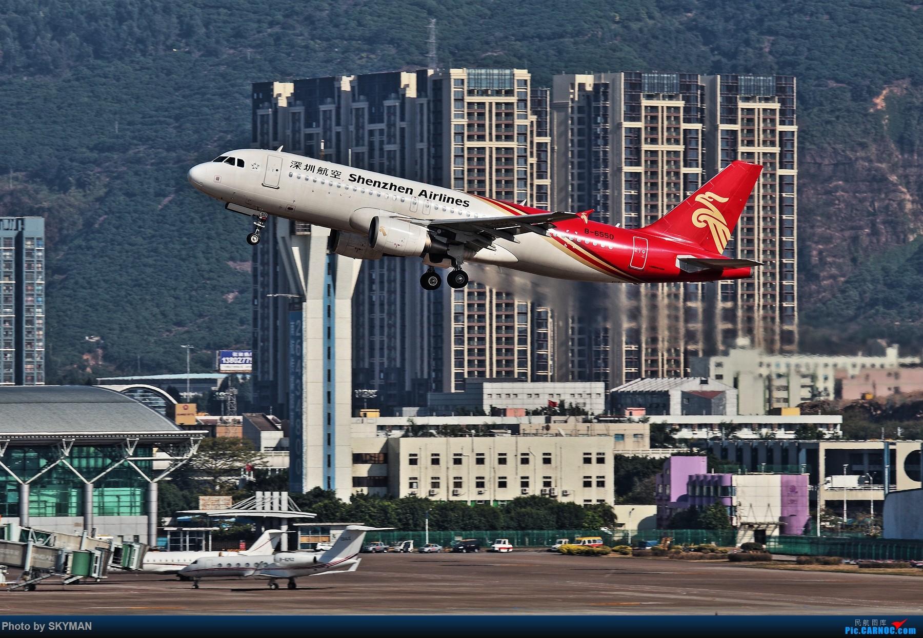 Re:[原创]BLDDQ--某位爷说了 别老是拿几百块的破相机来糊弄 确实机器老了图不够瓷实 得!换感动牌! AIRBUS A320-200 B-6550 中国深圳宝安国际机场