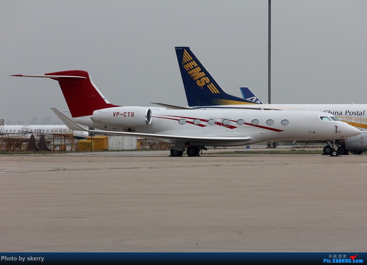 Re:[原创]***【TSN飞友会】近期来天津的公务机之湾流*** GULFSTREAM G650 VP-CTS 天津滨海国际机场