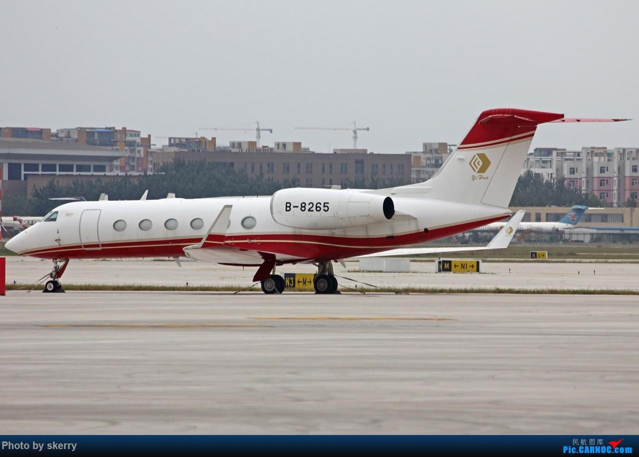 Re:[原创]***【TSN飞友会】近期来天津的公务机之湾流*** GULFSTREAM G450 B-8265 中国天津滨海国际机场