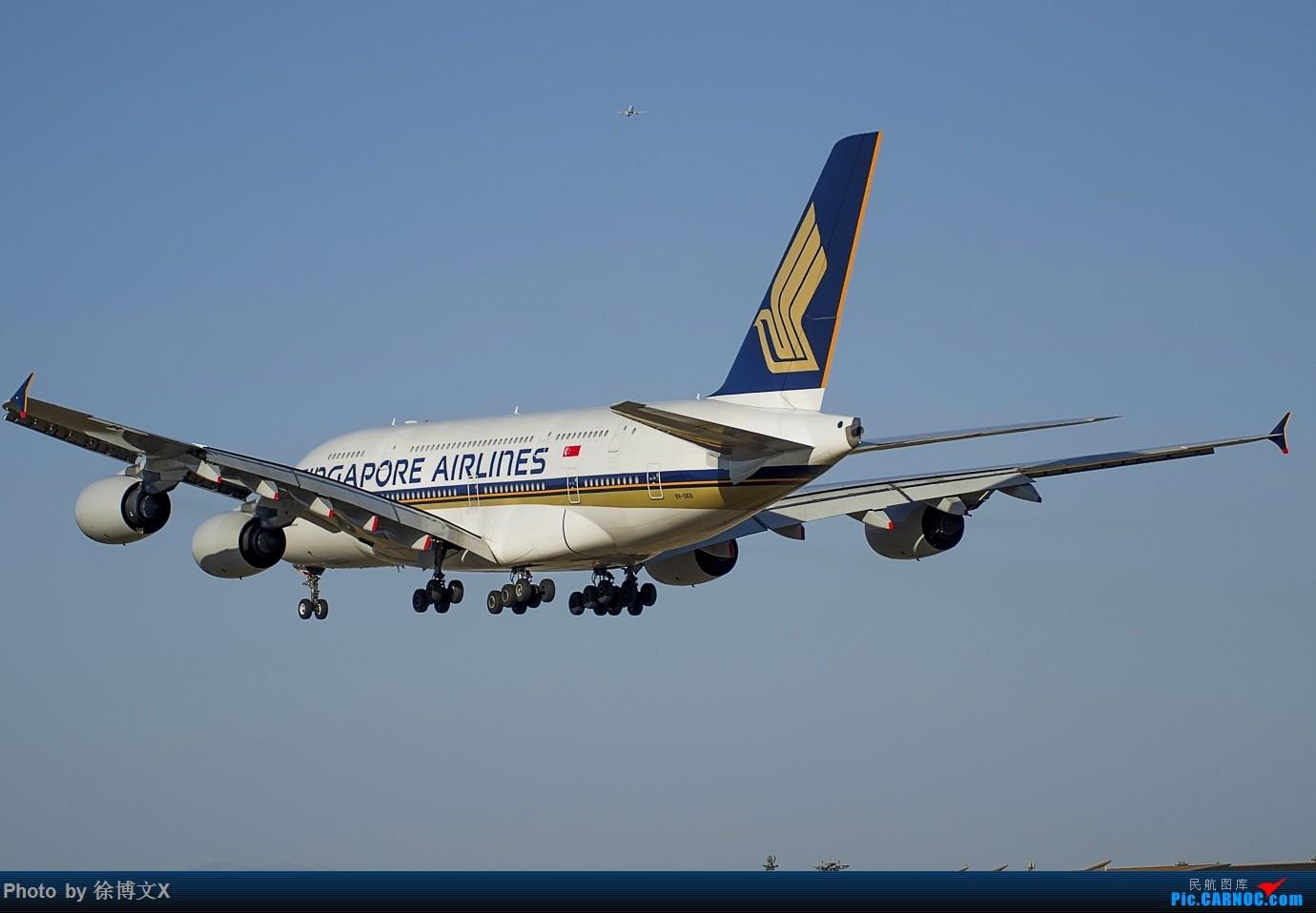 Re:[原创]四图  SQ380 (蓝天) AIRBUS A380-800 9V-SKB 中国北京首都国际机场