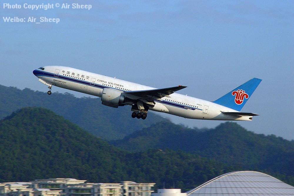 [原创]我们不会忘记南航曾经有架为N688CZ美国注册号的波音777 BOEING 777-200 N688CZ 中国广州白云国际机场