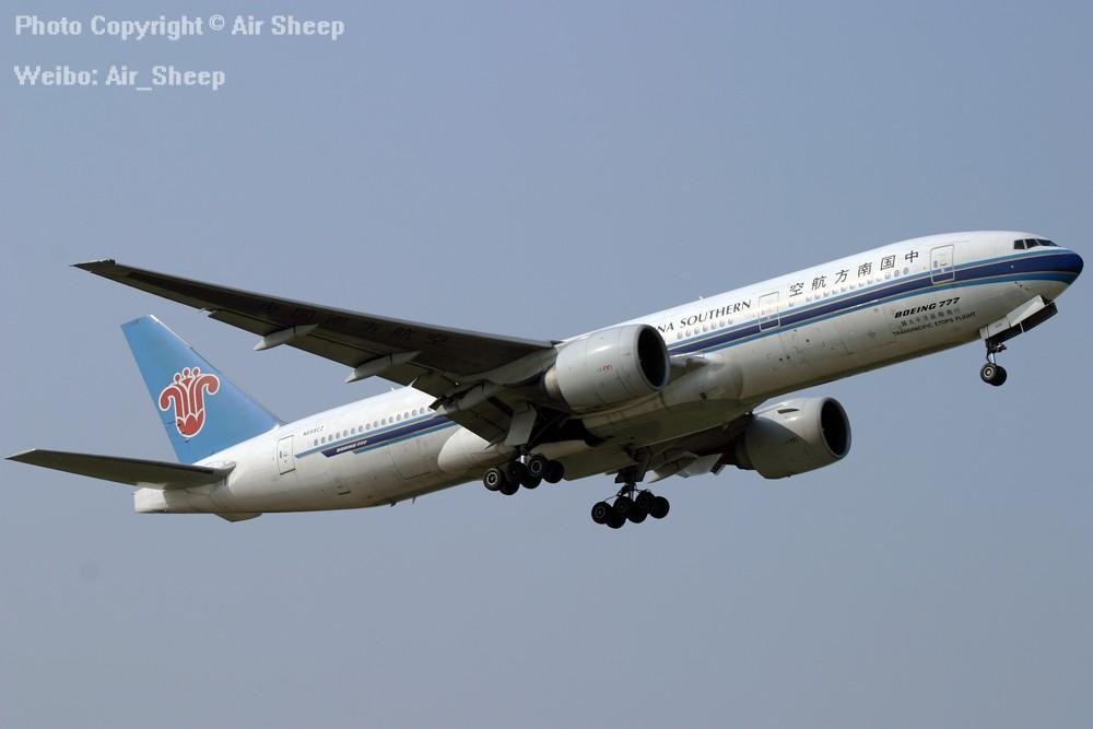 Re:[原创]我们不会忘记南航曾经有架为N688CZ美国注册号的波音777 BOEING 777-200 N688CZ 中国广州白云国际机场
