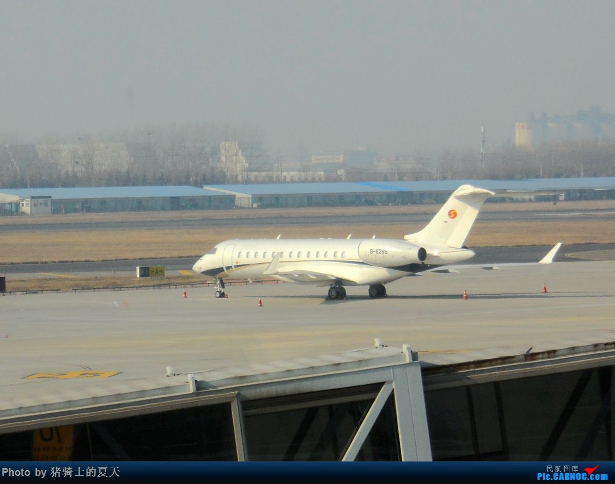 Re:[原创]人生首飞 GULFSTREAM G550 B-8268 青岛流亭机场