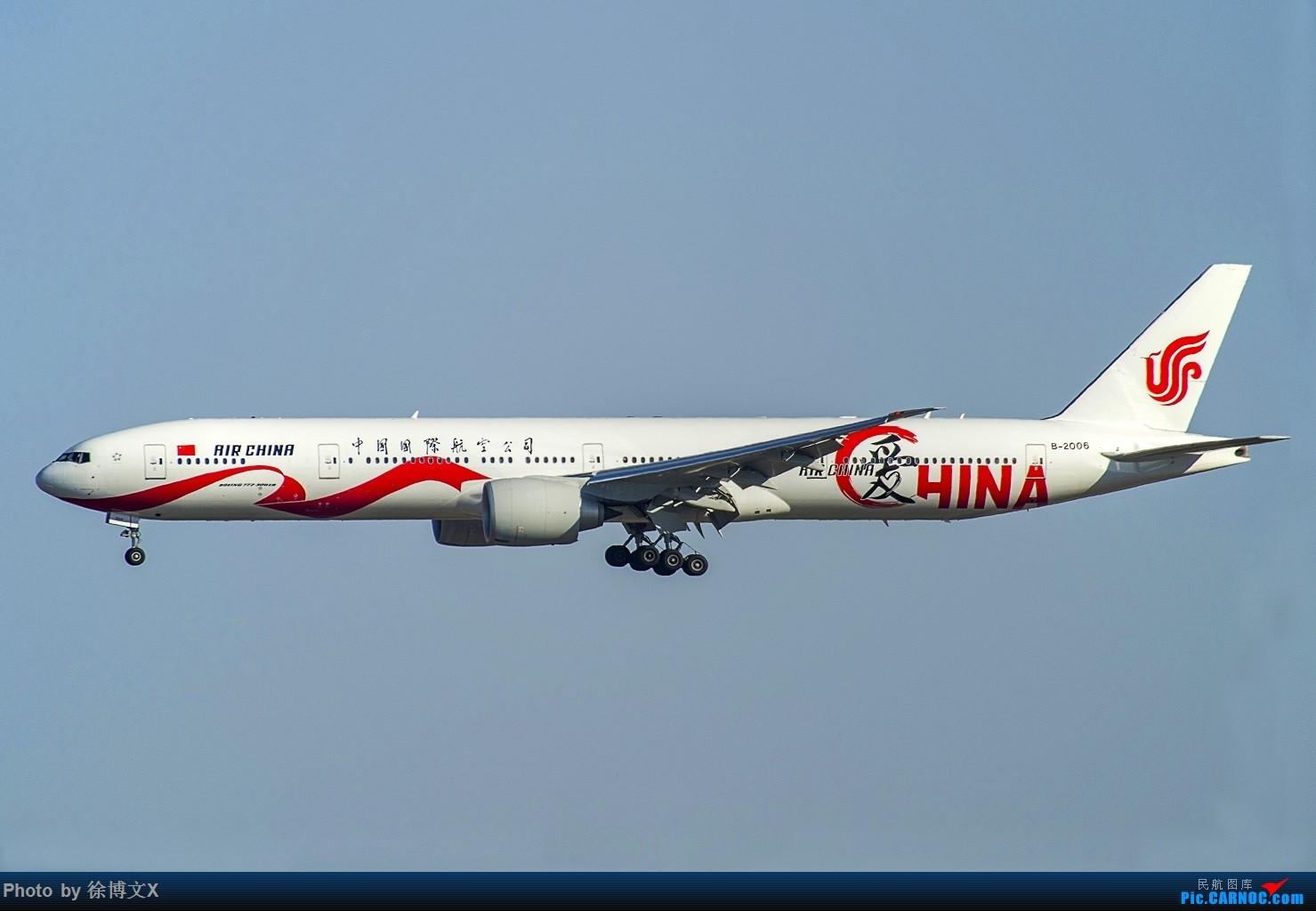 [原创]三图 爱China BOEING 777-300ER B-2006 中国北京首都国际机场