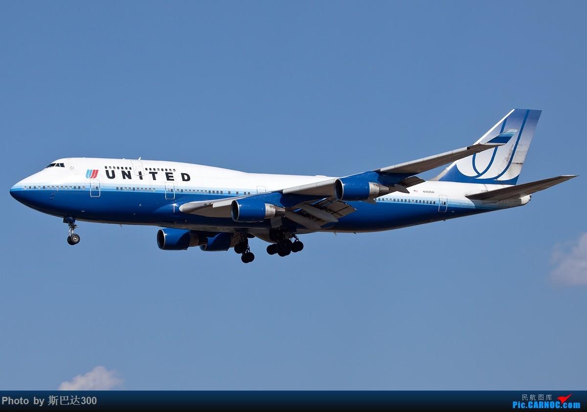[原创]不知不觉已升级到B747级 BOEING 747-400 N182UA 中国北京首都国际机场