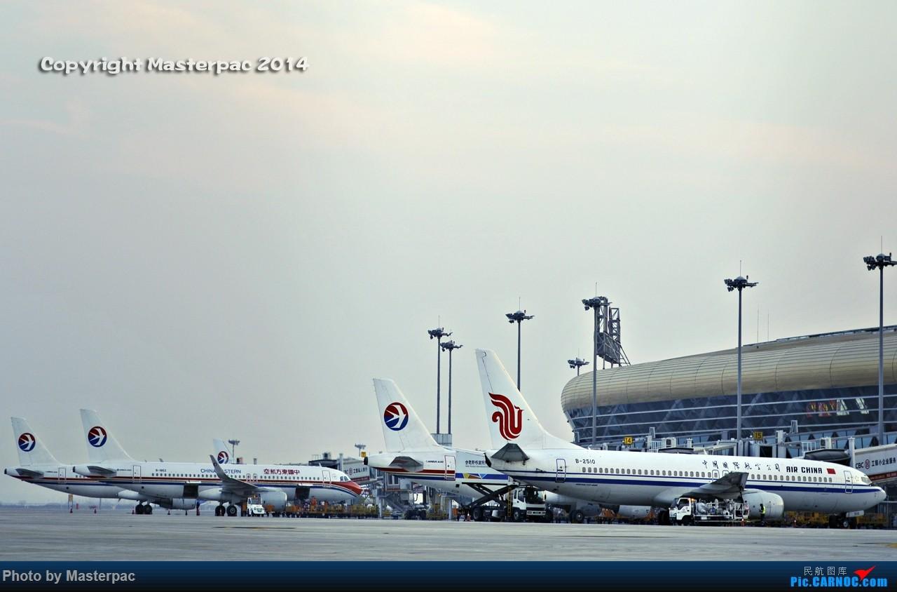 Re:★☆★Masterpac★☆★HFE周末新桥机场随拍交作业第一次拍到福州航空    中国合肥新桥国际机场