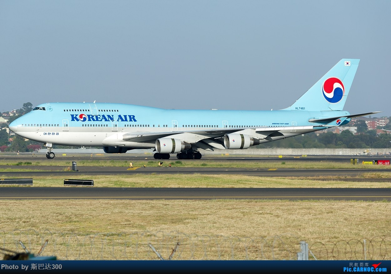 Re:[讨论]您期望自己的图片中添加水印吗? BOEING 747-400 HL7461 澳大利亚悉尼金斯福德·史密斯机场