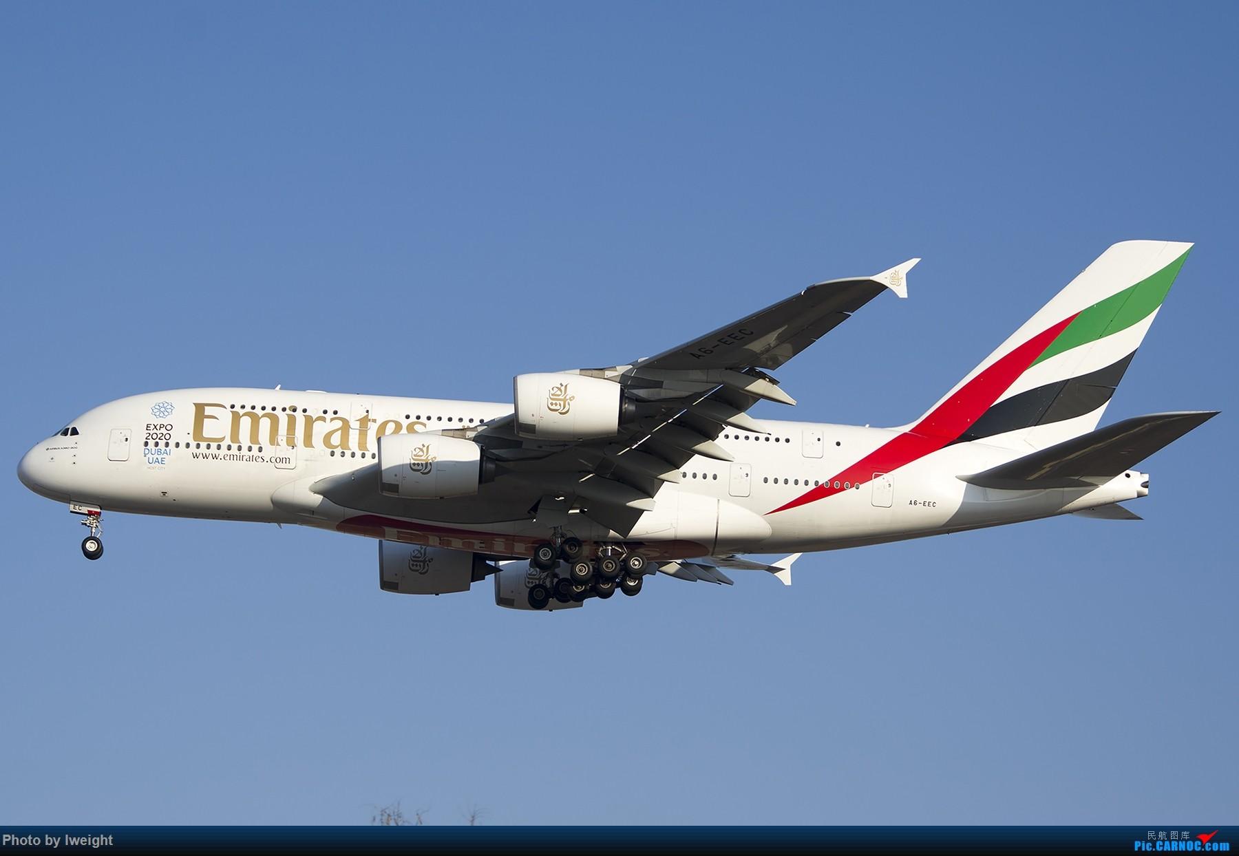Re:休假拍机【ZBAA】【2014-12-23】之常规篇 AIRBUS A380-800 A6-EEC 中国北京首都国际机场