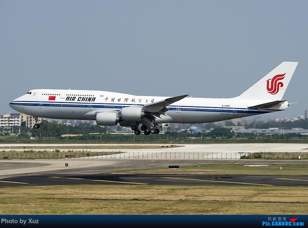 Re:[原创]老友来了有好机 BOEING 747-8I B-2485 中国广州白云国际机场