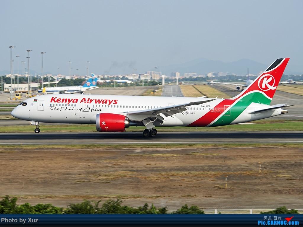 Re:[原创]老友来了有好机 BOEING 787-8 5Y-KZC 中国广州白云国际机场