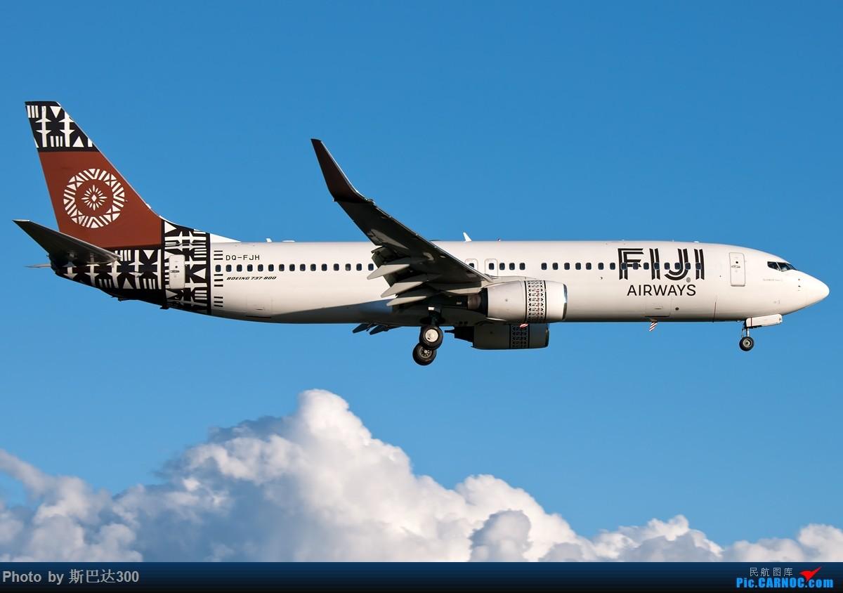 Re:[原创]两张图 FiJi738 BOEING 737-800 DQ-FJH 澳大利亚悉尼金斯福德·史密斯机场