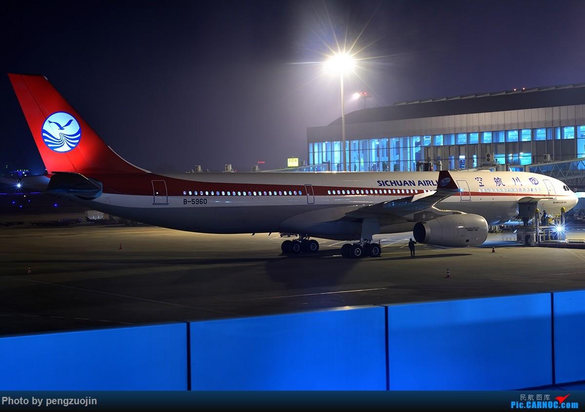 Re:[原创]【成都空港缘分飞友会】悍马散步夜袭川航 AIRBUS A330-300 B-5960