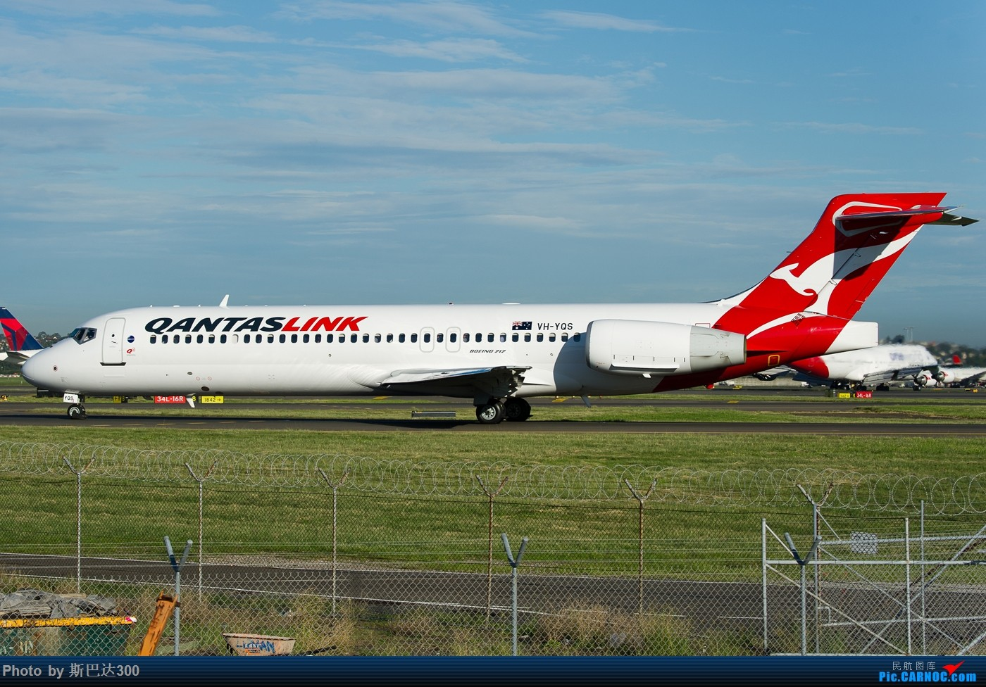 Re:[原创]发点儿存货 BOEING 717 VH-YQS 澳大利亚悉尼金斯福德·史密斯机场