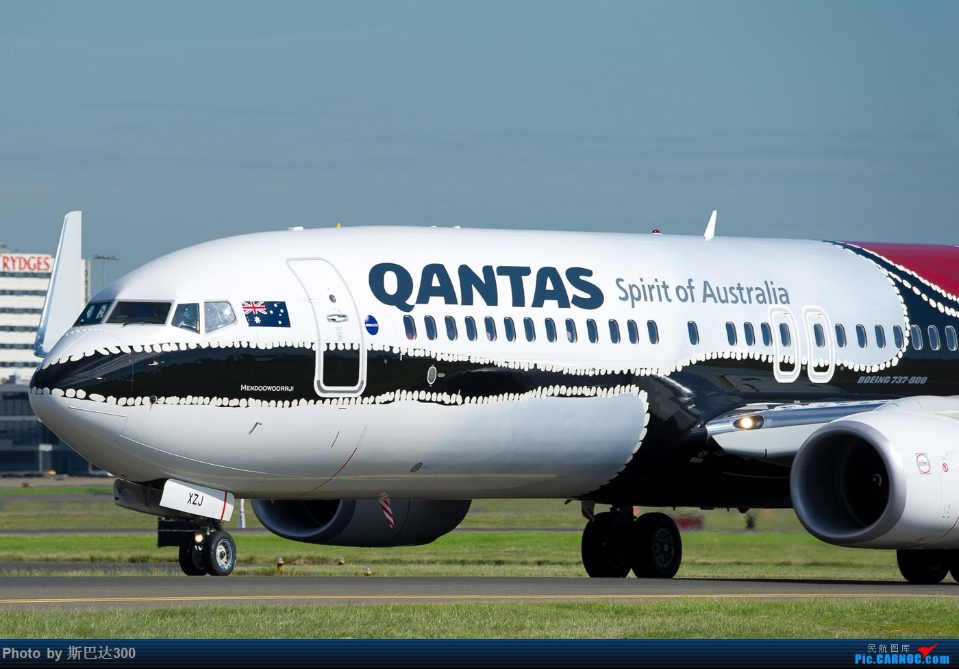 Re:[原创]发点儿存货 BOEING 737-800 VH-XZJ 澳大利亚悉尼金斯福德·史密斯机场