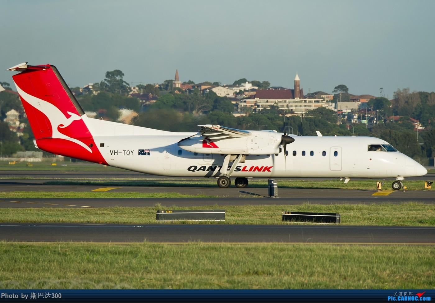 Re:[原创]发点儿存货 DHC-8-315Q DASH 8 VH-TQY 澳大利亚悉尼金斯福德·史密斯机场