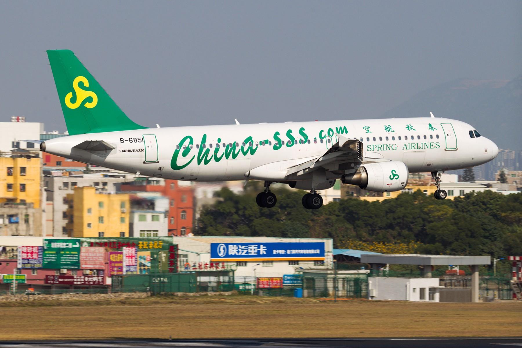 Re:[原创]【BLDDQ】******有阳光、带地景,雾霾奈我何?****** AIRBUS A320-200 B-6851 中国厦门高崎国际机场