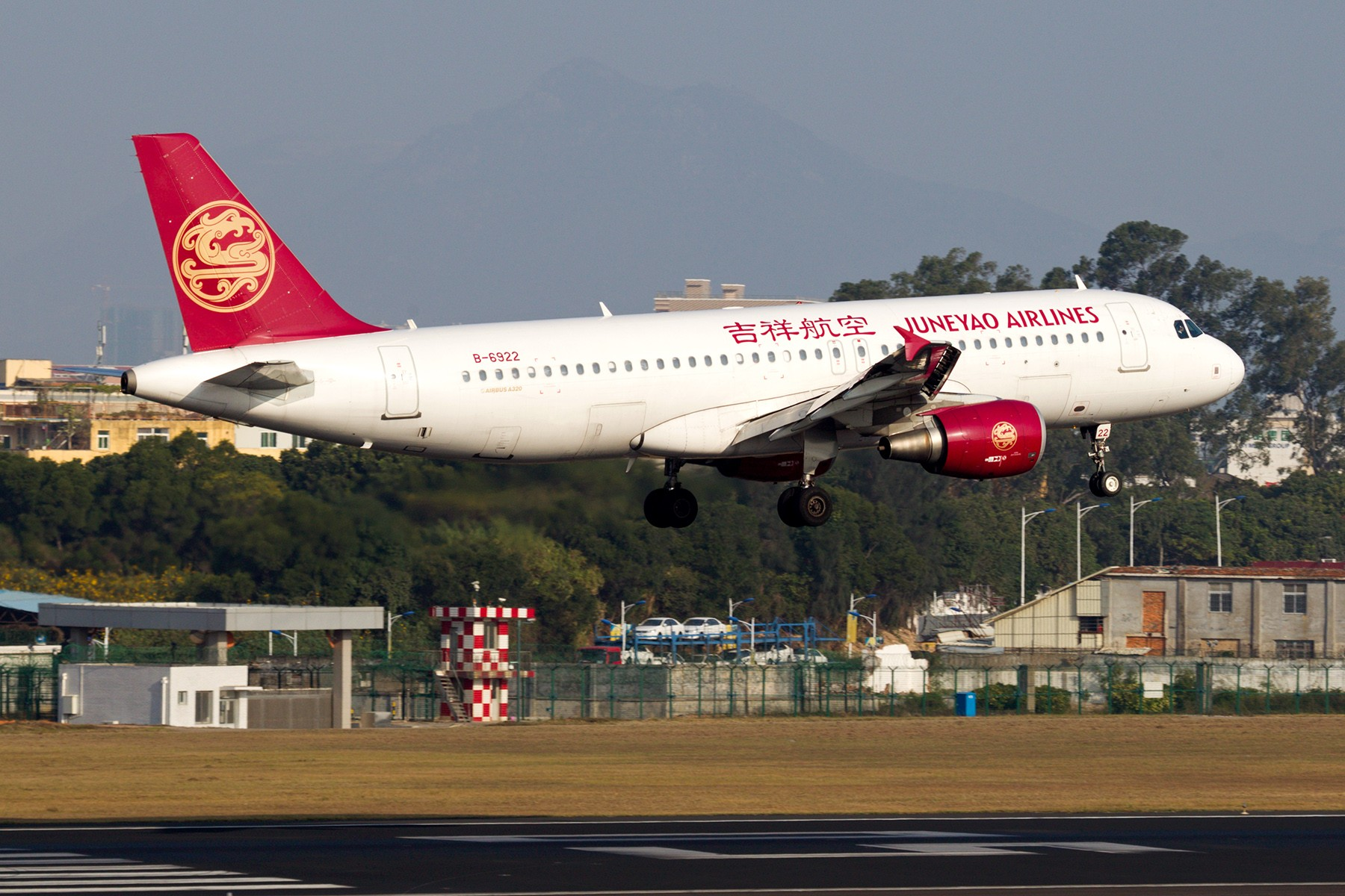 Re:[原创]【BLDDQ】******有阳光、带地景,雾霾奈我何?****** AIRBUS A320-200 B-6922 中国厦门高崎国际机场
