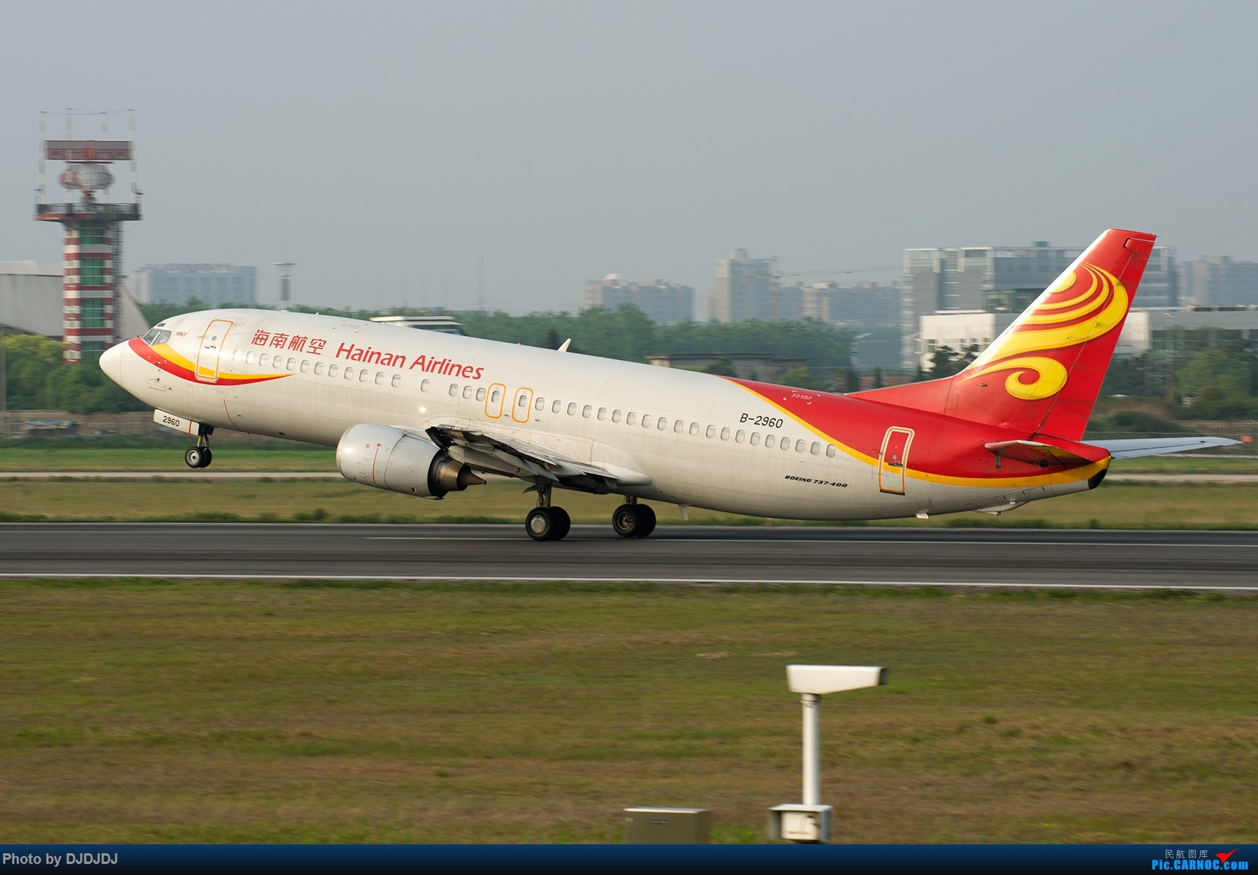 Re:[原创]【BLDDQ--深圳打机队】那年合肥老骆岗 BOEING 737-400 B-2960 中国合肥骆岗国际机场